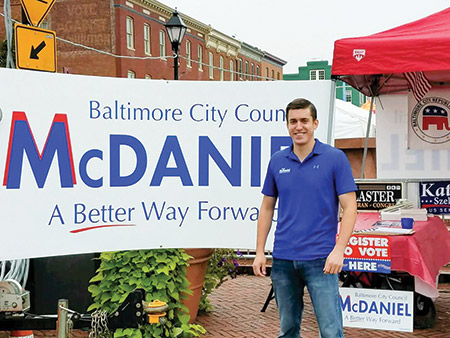 Matthew McDaniel has his sights set on the city's $60 million deficit and promises a more conservative economic approach. (Photo provided)