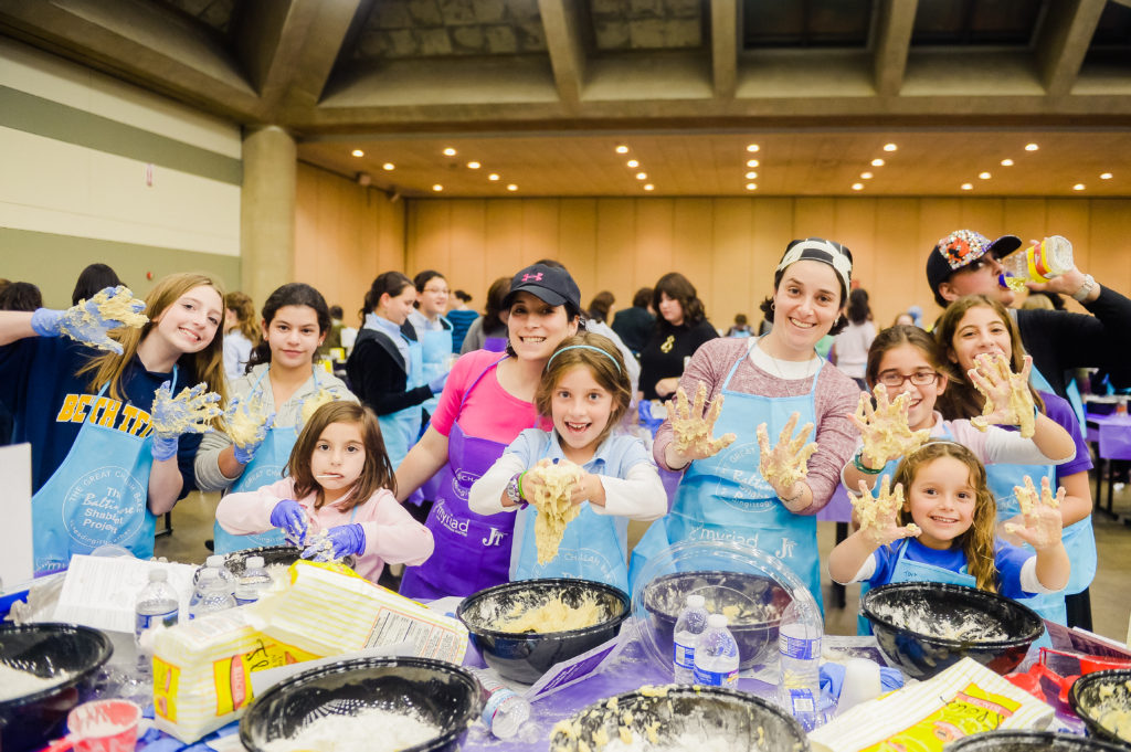 The Great Challah Bake drew 4,000 Jewish women to the Baltimore Convention Center (Photo by David Stuck)