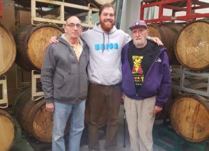 "From left: Jerry, Adam and Henry ""Zadie"" Benesch. (Mathew Klickstein)"