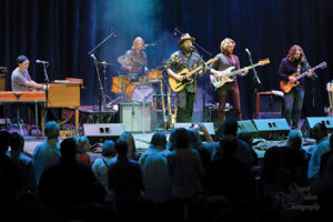 """Baltimore native guitarist and singer Cris Jacobs celebrated the release of his new album """"Dust to Gold"""" in a sold-out performance at the Gordon Center in Owings Mills on Nov. 5. The concert also featured Amy Helm and Brooks Long. (Stuart Dahne Photography)"""