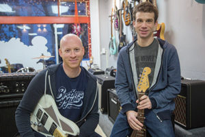 Brothers Music co-owners Ian (left) and Brian Goldstein (Chrissy Abbott)