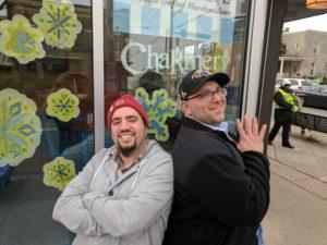 The Charmery's David Alima (left) and Center Cut Doughnuts' Josh Kowitz. (photo provided)