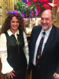 Orly Shalem and Stuart Diamant-Cohen (Photo by Daniel Nozick)