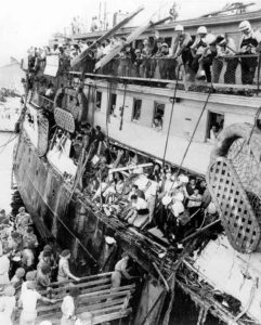 The ship Exodus (Provided)