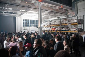Once again, Charm City Tribe's BrewHaHa took place at Union Craft Brewing in Hampden. (Marc Shapiro)
