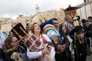 """Women of the Wall"", an activist group that is challenging the Orthodox over rites at the Western Wall, has been working to allow women to pray at the Wall in ways traditionally allowed only to men, including reading from the Torah and wearing prayer shawls."