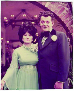 Rose and Jacob Kanner at their daughter's (Joan's Aunt) wedding in the 70s.(Toncia Sosnosky)