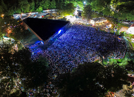 Renovations new venue coming from merriweather operator a birds eye view of merriweather courtesy of merriweather post pavilion aloadofball Gallery
