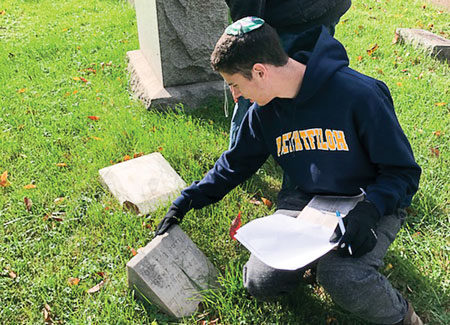 Thanks to Beth Tfiloh Students, Those Buried at Hebrew Friendship Live On