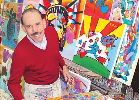 Peter Max on Art, Life and 'Good Gesheft' - Baltimore Jewish Times