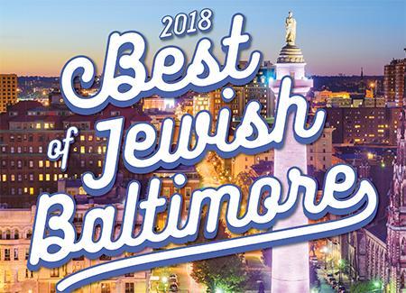 2018 Best Of Jewish Baltimore Baltimore Jewish Times