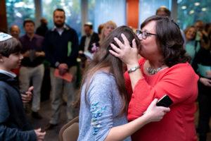 Chizuk Amuno Congregation in Pikesville honored Rabbi Deborah Wechsler for generations