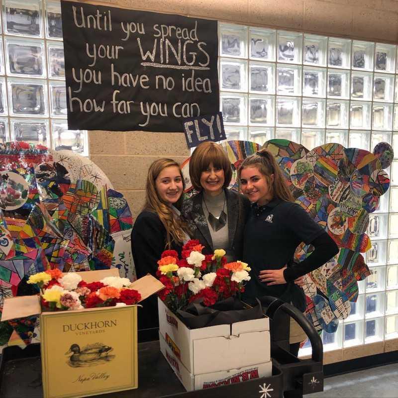 Lexi Thomas, Zipora Shorr, and Abby Levin