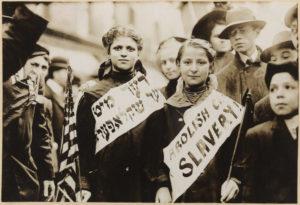 Jewish girls in 1909