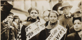 Jewish girls in 1909