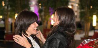 Sheri Heller, right, embraces Sima Kirscher