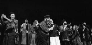 Fiddler on the Roof on Broadway in 1964