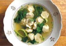 Rusian dumplings, Sonya Sanford via JTA