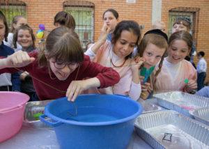 Hasidic children