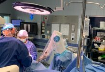 Surgeons use ROSA robot for knee surgery
