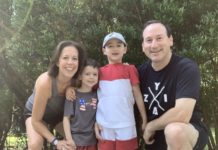 Kelly Blavatt and her family (Courtesy of Blavatt)