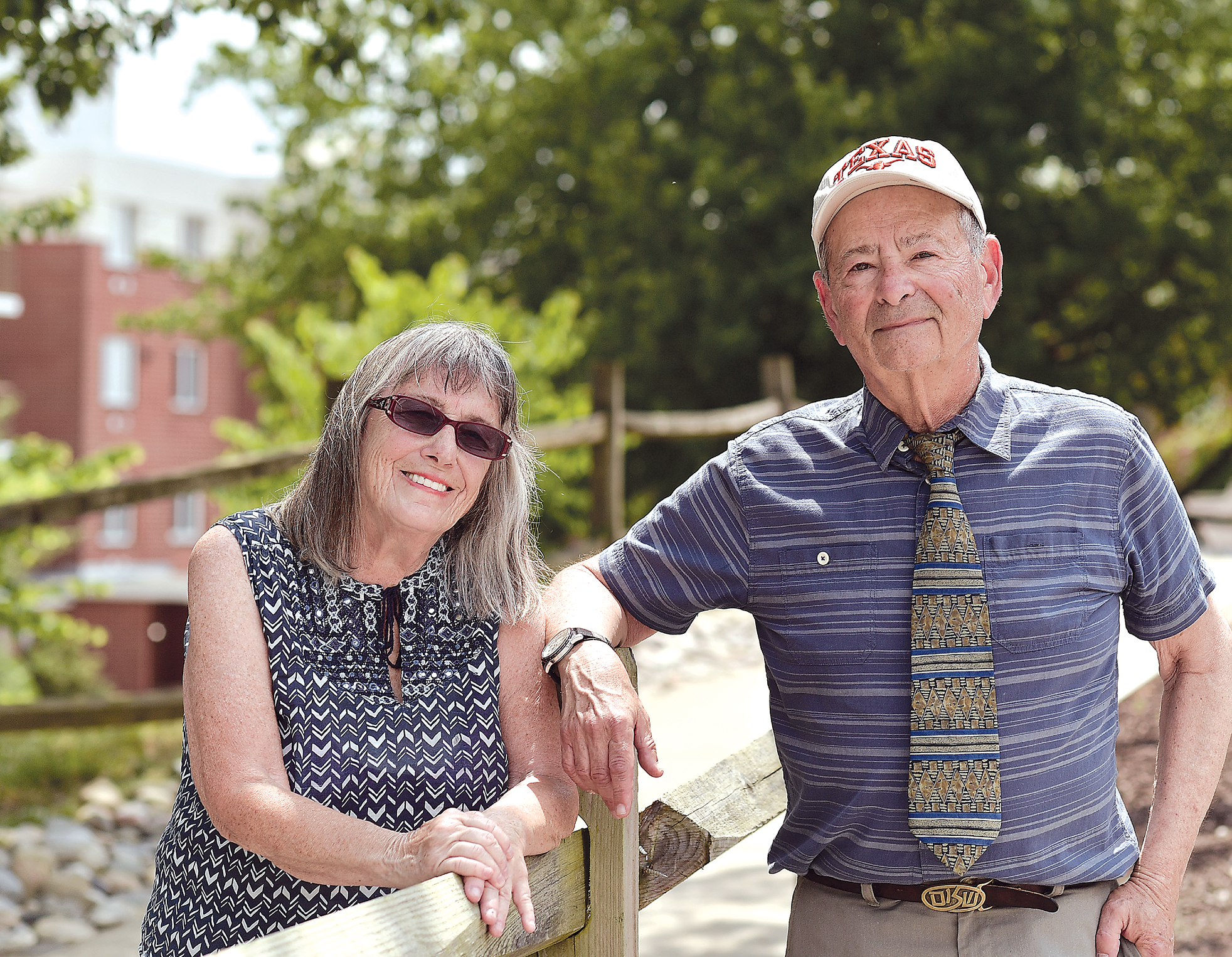 Barry and Laura Steinberg of Westminster Synagogue (David Stuck)