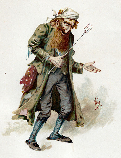"""Fagin"" from ""Oliver Twist."""
