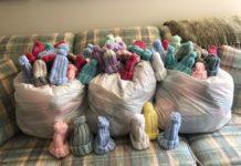 Covenant Guild's baby hats (Lois Balser)