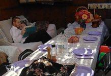 Avraham Cohen's sukkah (courtesy)