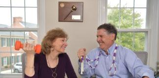 Lisa and Brian Jolles (David Stuck)