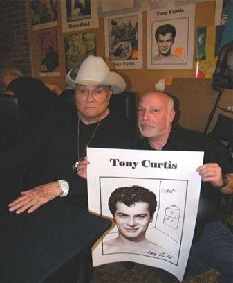 Mark Gross with Tom Curtis (courtesy)