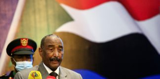 Sudan's Sovereign Council chief General Abdel Fattah al-Burhan