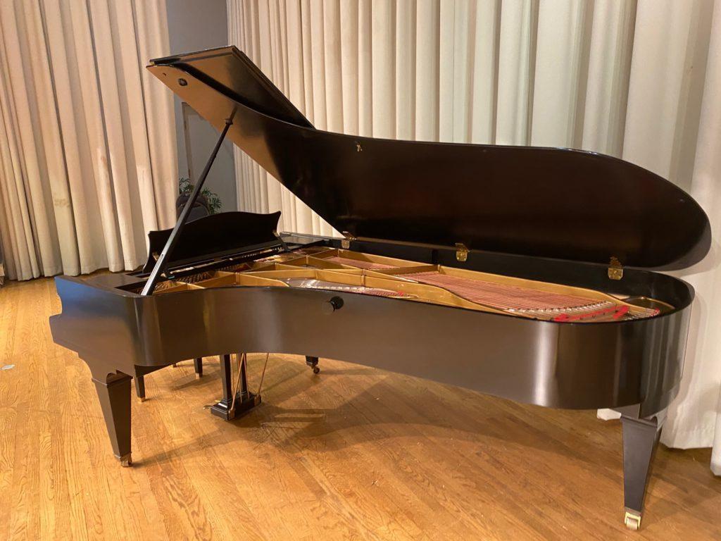 Beth El Congregation's new Bechstein piano