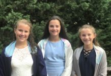 Hannah, Marissa and Ellie Berlin