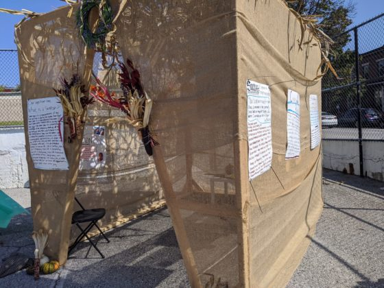 Repair the World Baltimore sukkah