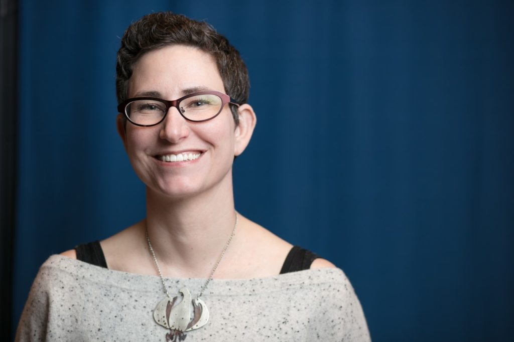 Tracie Guy-Decker, deputy director of the Jewish Museum of Maryland