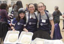 challah bake participants