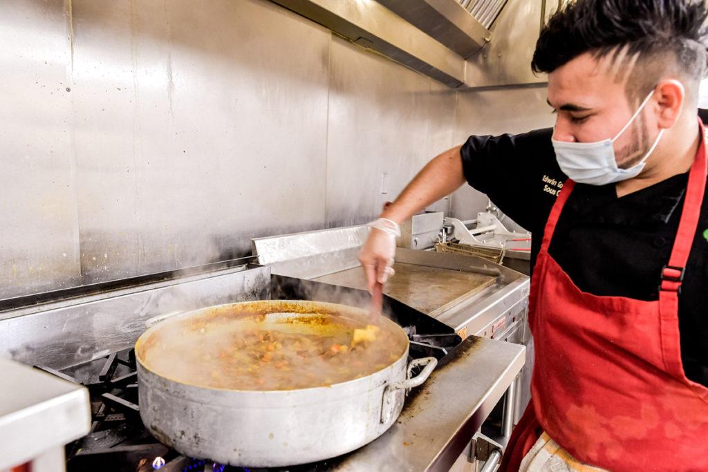Sous Chef Edwin Gonzales