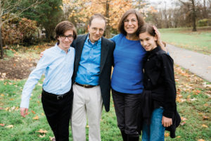 Maxine Grossman with her family.