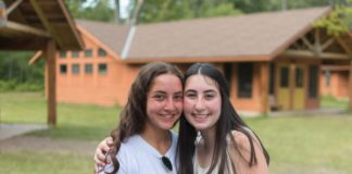Isabella Lefkowitz-Rao with a friend