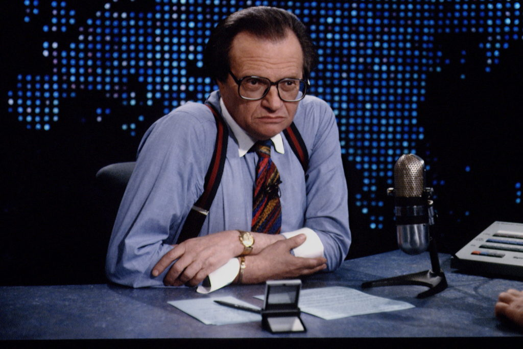 Larry King in 1993