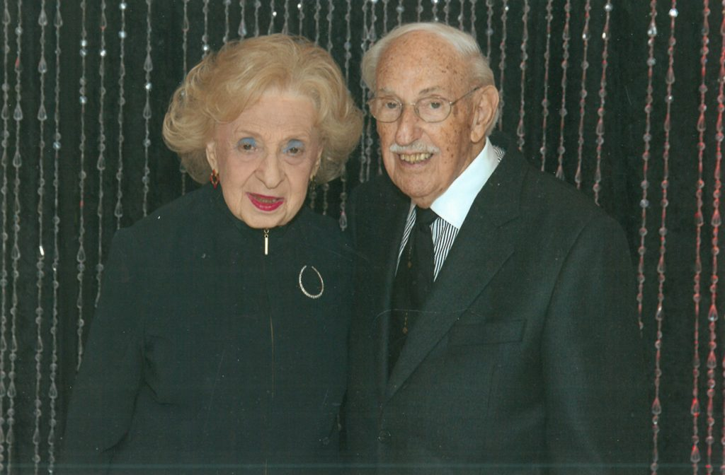 Edith and Lou Bluefeld