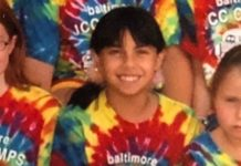 Ally Feldman as a child at camp