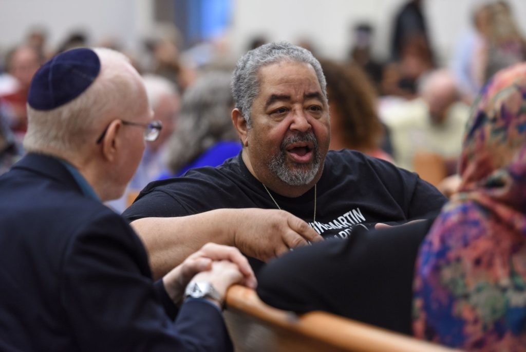Courageous Conversations discussion event at St John Baptist Church, 2018