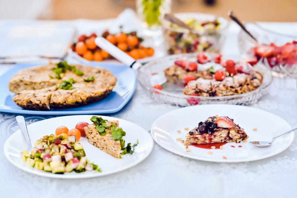 A savory and sweet matzah babka
