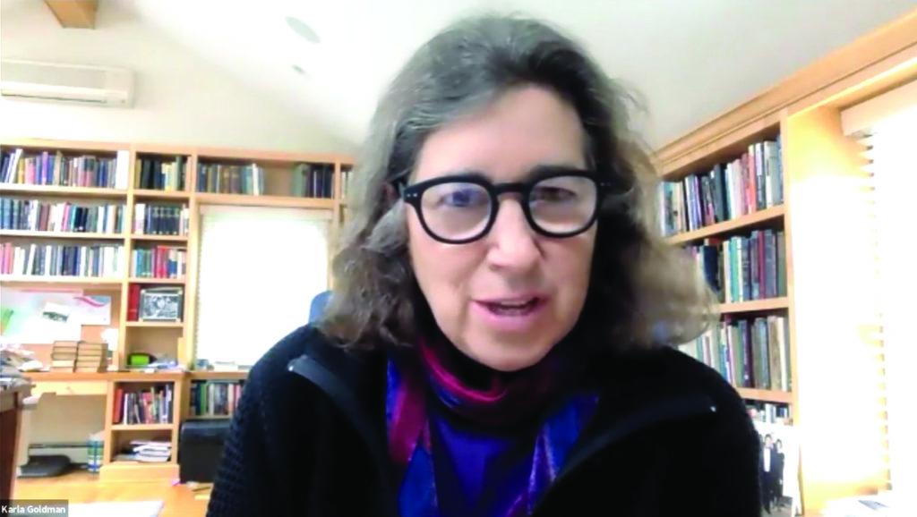 "Baltimore Hebrew Congregation hosts Professor Karla Goldman for ""Wisdom Around the World."""