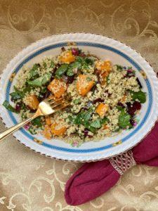 Jeweled quinoa