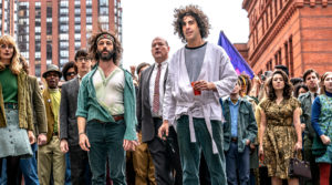 Sacha Baron Cohen in The Trial of the Chicago 7