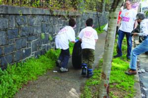 Volunteers on Good Deeds Day