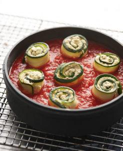 vegan zucchini rolls